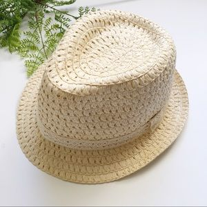 Accessories - Straw Panama Fedora Hat